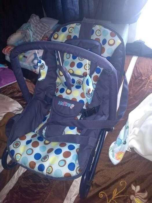 Silla Mecedora para Bebe Antiflujo