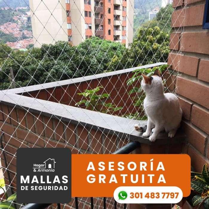 Mallas de seguridad (<strong>gato</strong>s)
