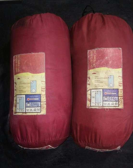Vendo 2 Bolsas de Dormir