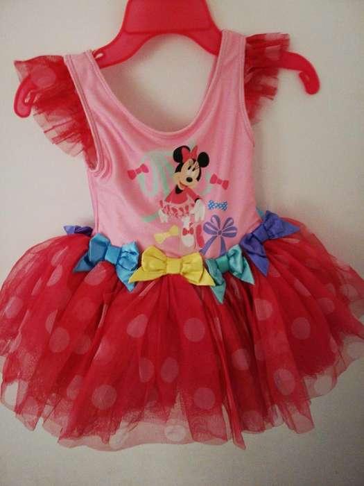 Disfraz minie bailarina