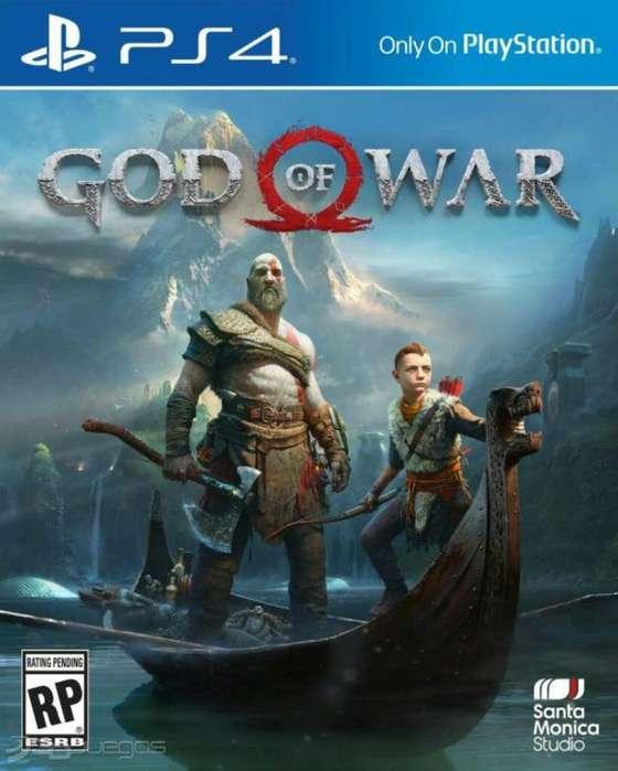 Juego Ps4 God Of War Nuevo