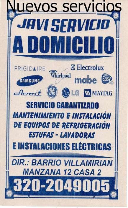 Mantenimiento preventivo y correctivo de Lavadoras - Neveras - Aires - estufas
