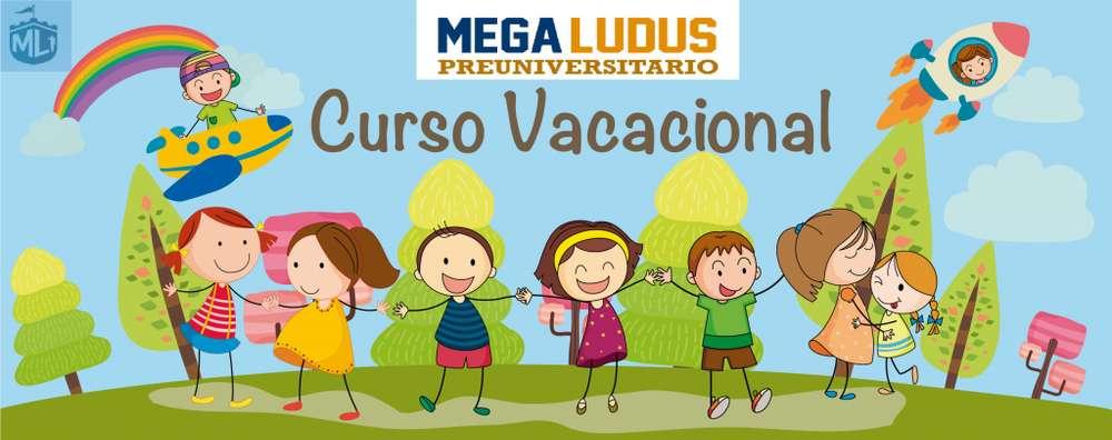 MEGA CURSOS VACACIONALES / JULIO-AGOSTO