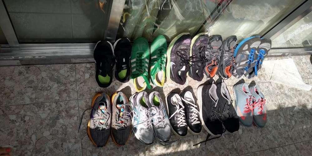 Zapatos Americanos Nike , Asics