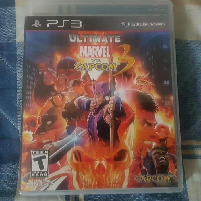 PS3 Juego Ultimate Marvel vs Capcom 3 Arequipa Colección Online