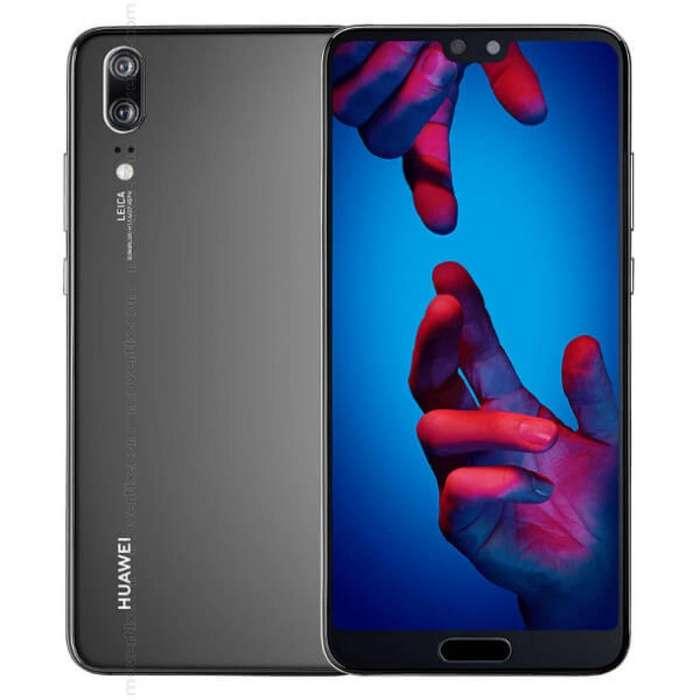 Huawei P20 128 Gb, Dos Meses De Uso, Vidrio Templado Y Funda