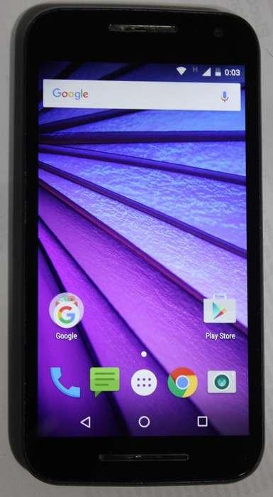 Motorola Moto G3 4G LTE. Buen estado! LIBRE!!!
