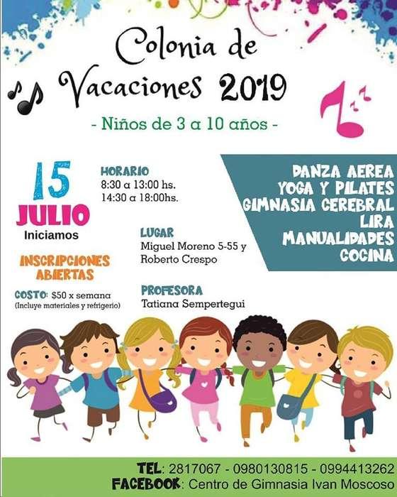 COLONIA VACACIONAL CUENCA 2019