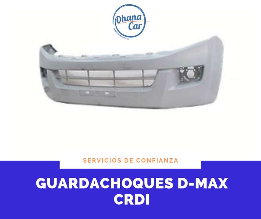 GUARDACHOQUES CHEVROLET D-MAX CRDI