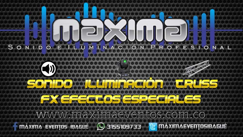Rentamos Sonido e Iluminación para eventos sociales y empresariales!!! 3155109733 WhatsApp
