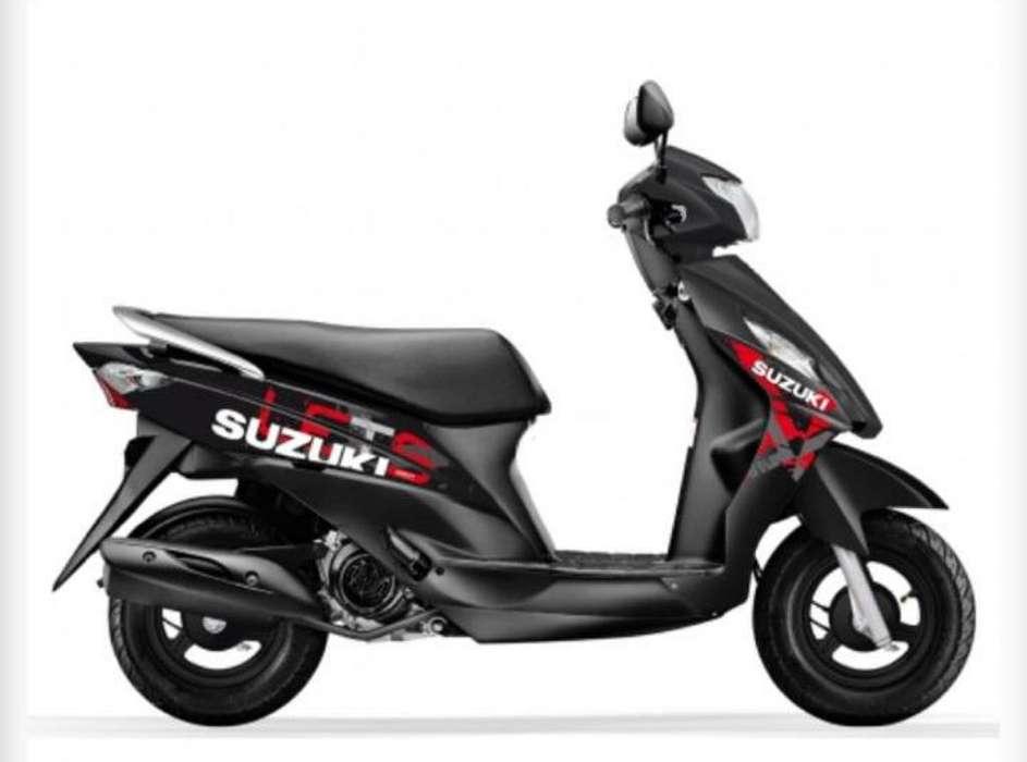 Motocicleta Suzuki Lets 110 Modelo 2020