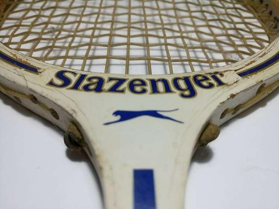 Antigua Raqueta Slazenger Powerthrust