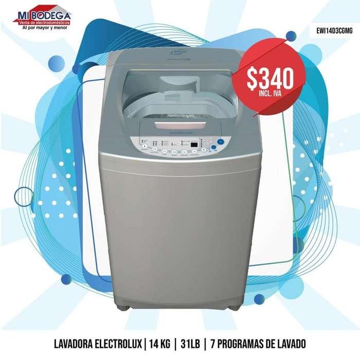 Electrolux <strong>lavadora</strong> automática 31lb