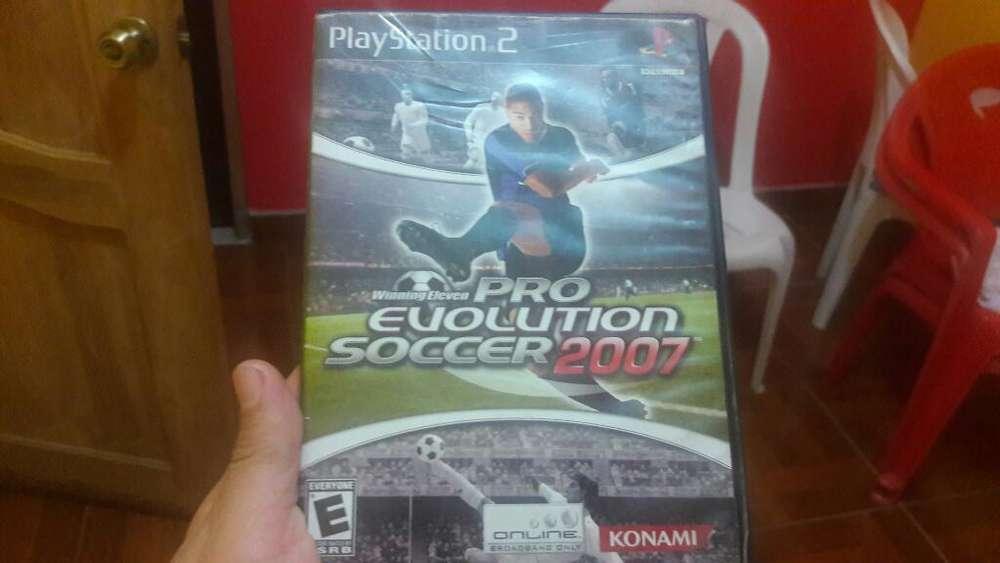 Pro Evolution Soccer 2007 Ps2