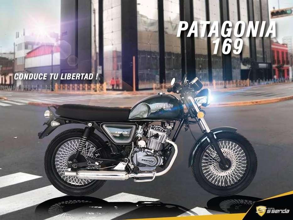 Moto Lineal Ssenda Patagonia 180cc. 2019 modelo café racer