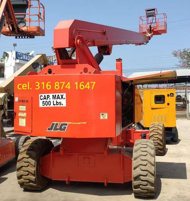 Manlift Jlg 26 Mts Año 2001 3187hr Certificado ONAC