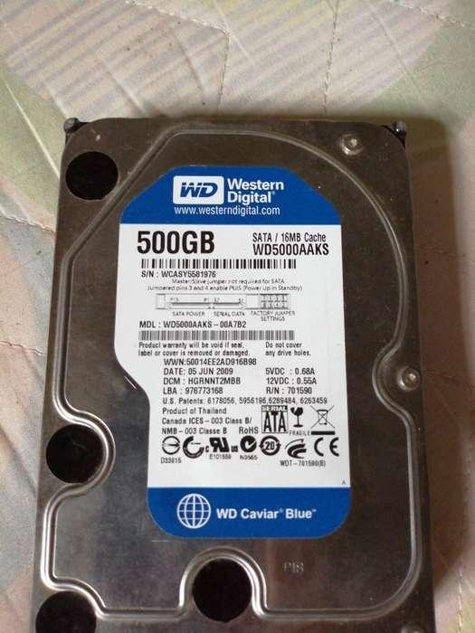 Disco Duro Pc Western Digital 500 Gb