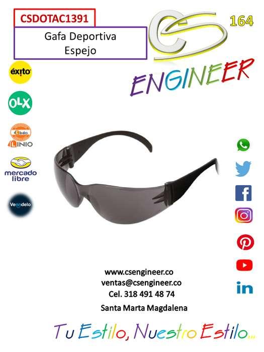 CS ENGINEER - Gafas Deportivas Espejo