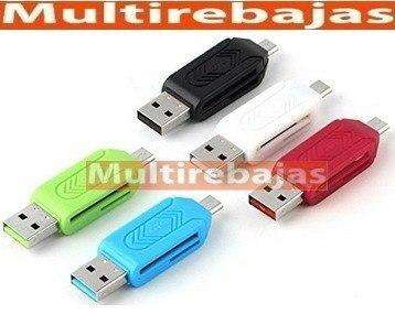Fashion Micro Usb Otg Adapter Sd Memory Card Reader