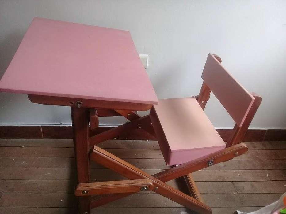 escritorio para niña