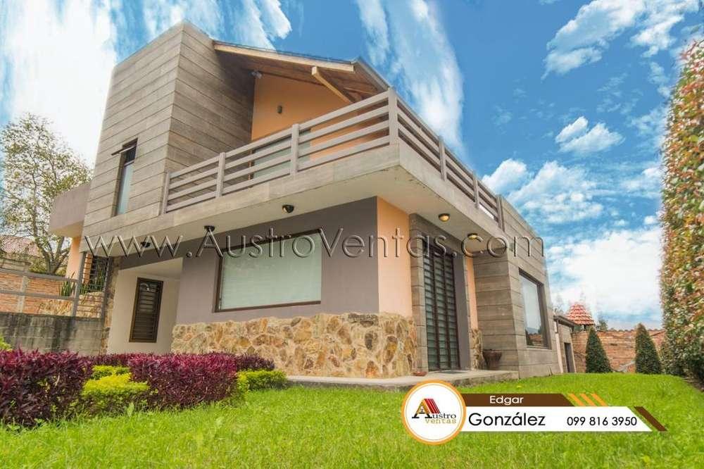 Casa venta Cuenca Ecuador con area verde