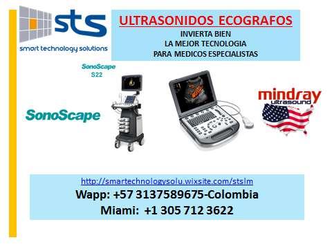 Ultrasonido Ecografo Medico Sonoscape Y Mindray