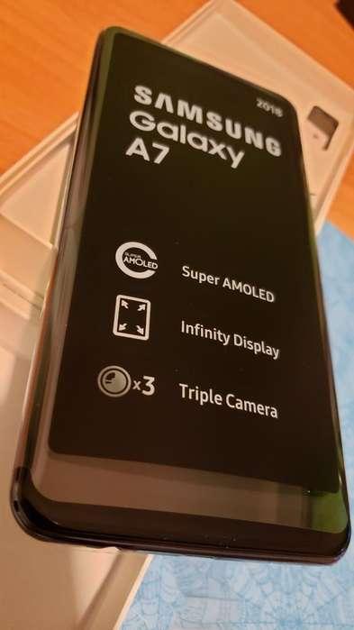 Samsung A7 64gb 4gb Triple Cámara