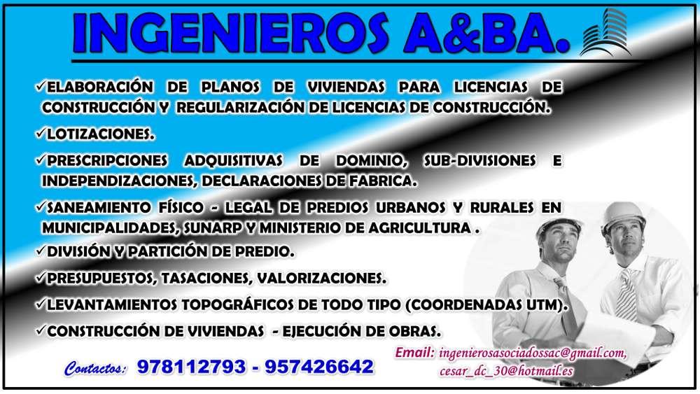 INGENIEROS EN SERVICIOS CONSTRUCCION Y OTROS