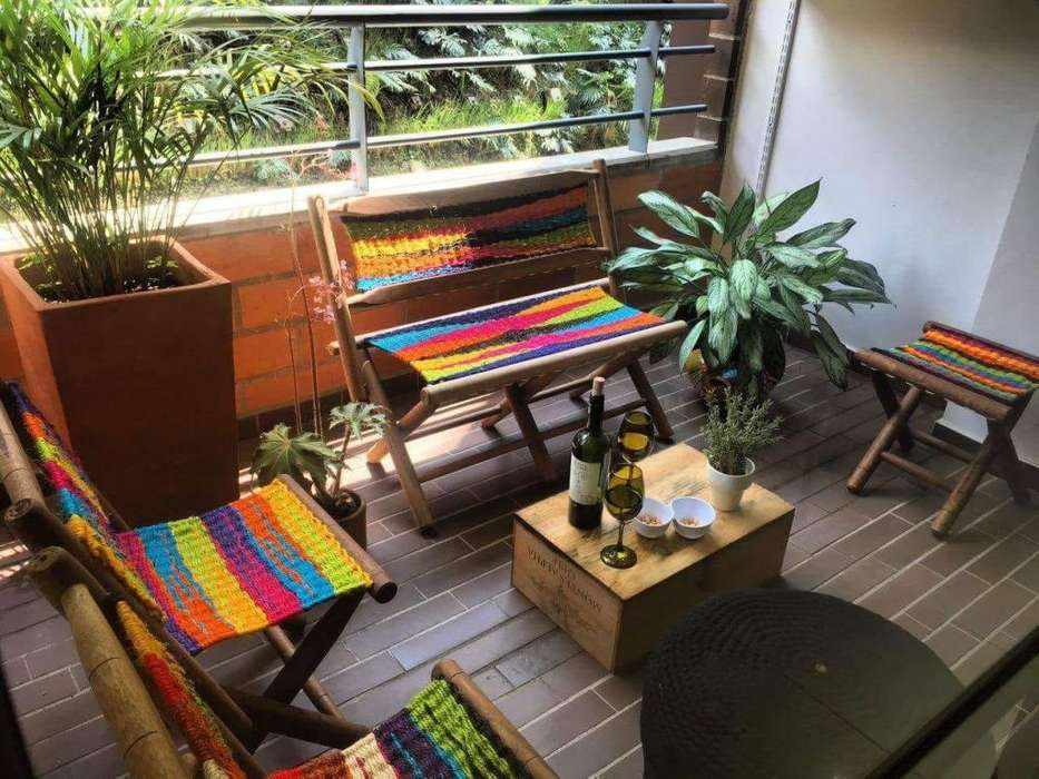 Muebles en Fique