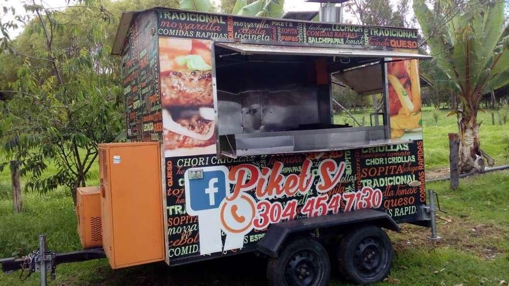 Food Truck Remolque trailer para Comidas