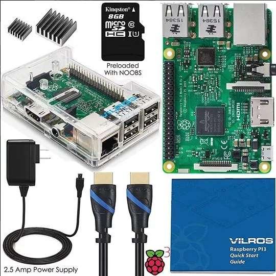 Kit Raspberry Pi 3 Envio Gratis