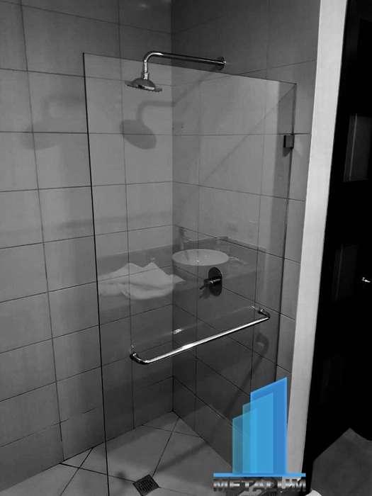 Puertas de Baño con Vidrio Templado