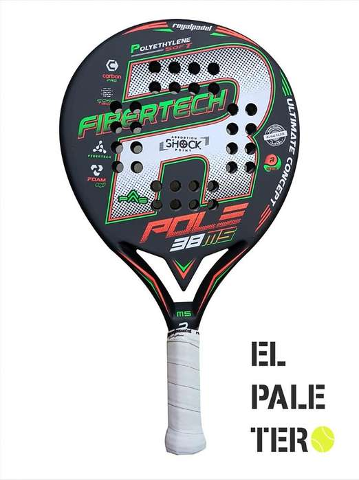 Paleta Padel Royal / Pole M5 Cubre Protector Bolsa