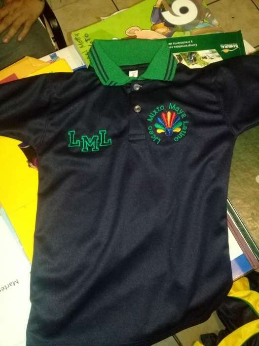 Playeras Polo Camisas Uniformes Bordados