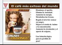 CAFÉ,aporta energía, control de apetito