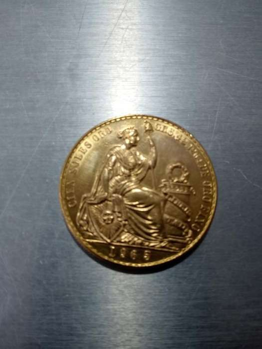 Vendo Moneda de Oro de 22 Kilates