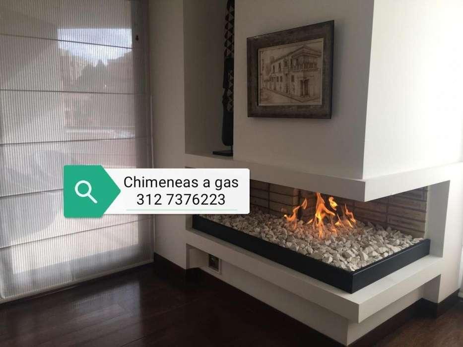 quemadores para chimeneas a gas con sistemas de encendido manual o control remoto
