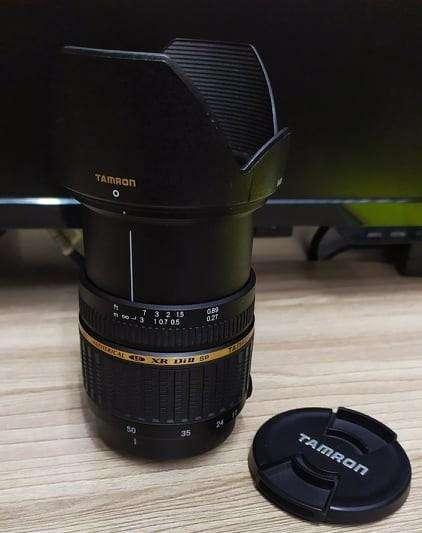 Lente Tamron Para Montura A Sony Xr Di Ii Af 17 50mm F2.8