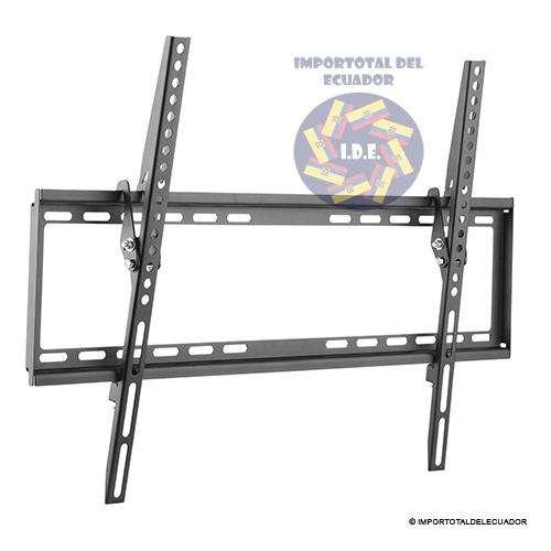 Soporte de pared ''nuevo'' inclinable 8 grados para tv plana desde 37 hasta 70 pulgadas / Resiste 77 libras de peso