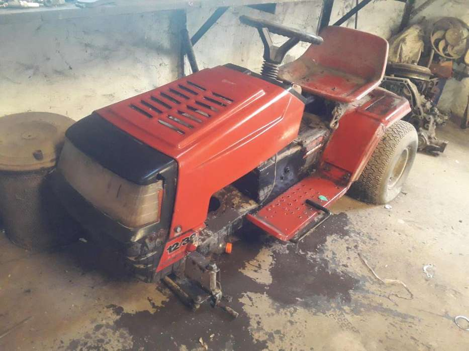 <strong>tractor</strong> cortacesped MTD 33 Desarmado
