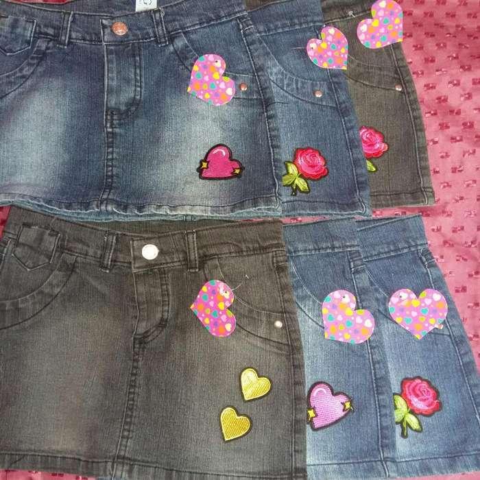 Polleras de Jeans Nena Nuevas