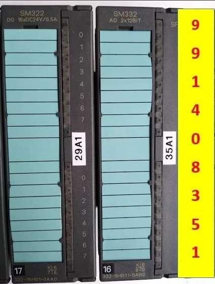 Plc Siemens S7 300 Sm332 Ao 2x12 Bit Salida Analógica