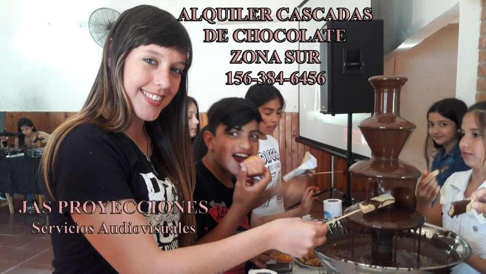 Alquiler cascada de chocolate Profesional 1 Metro de Altura En Quilmes