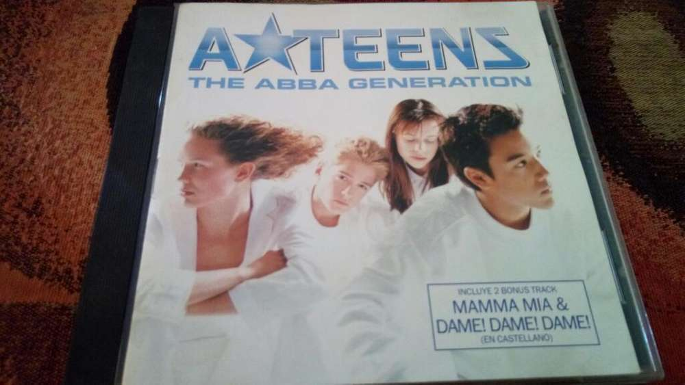 Cd A'teens The Abba Generation