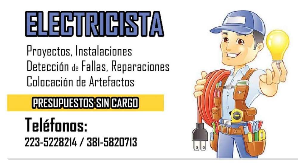 Electricista de Obra Y Domiciliario