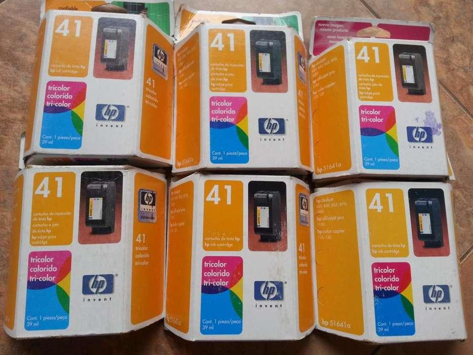 CARTUCHO DE TINTA HP 41 51641aTRiCOLOR ORIGINAL PARA HP DESKJET 820, 850, 855, 870, 1000