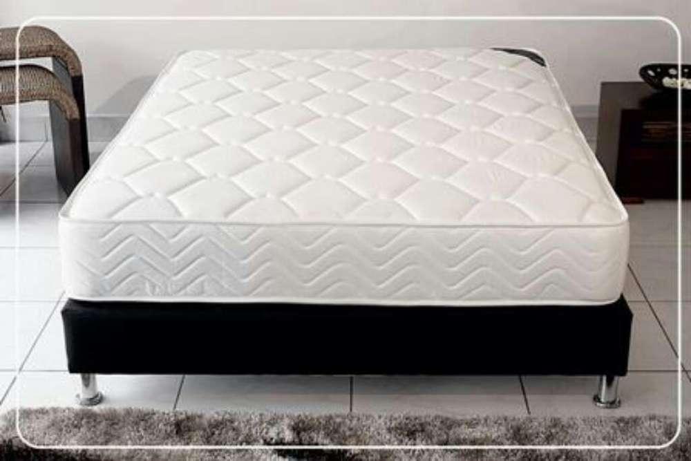 NUEVO <strong>cama</strong> base colchón semi Ortopédico mas Regalo