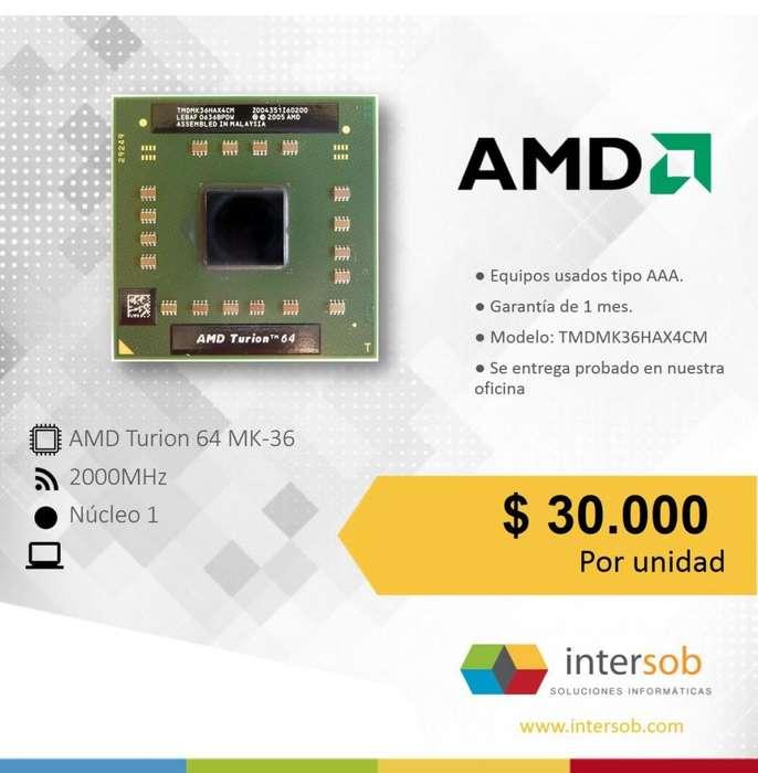 Procesadores AMD Portatil