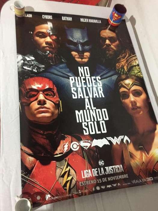 VENDO! AFICHES GRANDES CINE ORIGINAL DC COMICS!