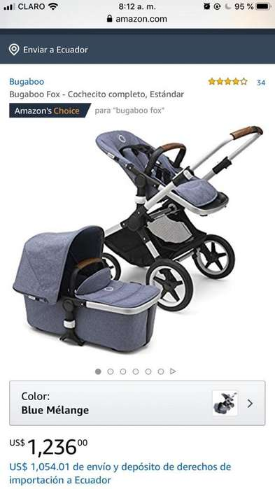 <strong>coche</strong> Bugaboo